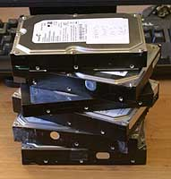 failed harddisks