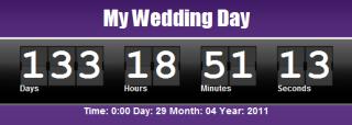 web countdown clock