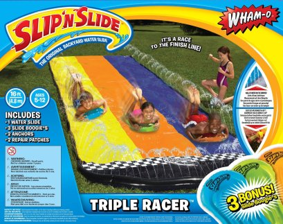 slip n slide water slide