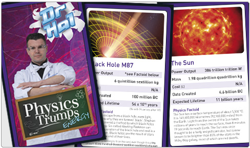 Dr Hal's physics trump cards