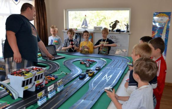 Scalextric party