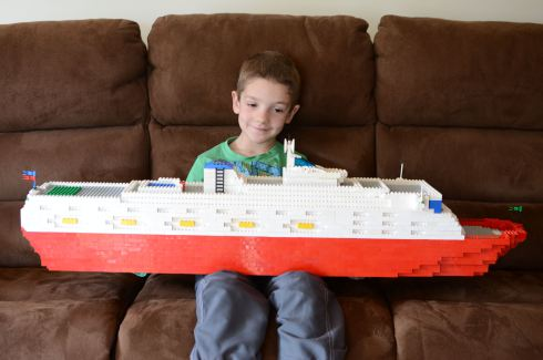 My Lego cruise liner