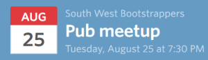 South West Bootstrappers Meetup