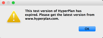 Hyper Plan expired window